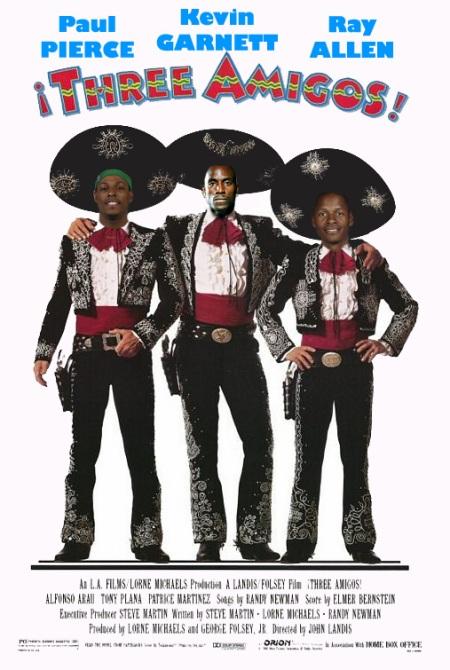 Thee Three Amigos
